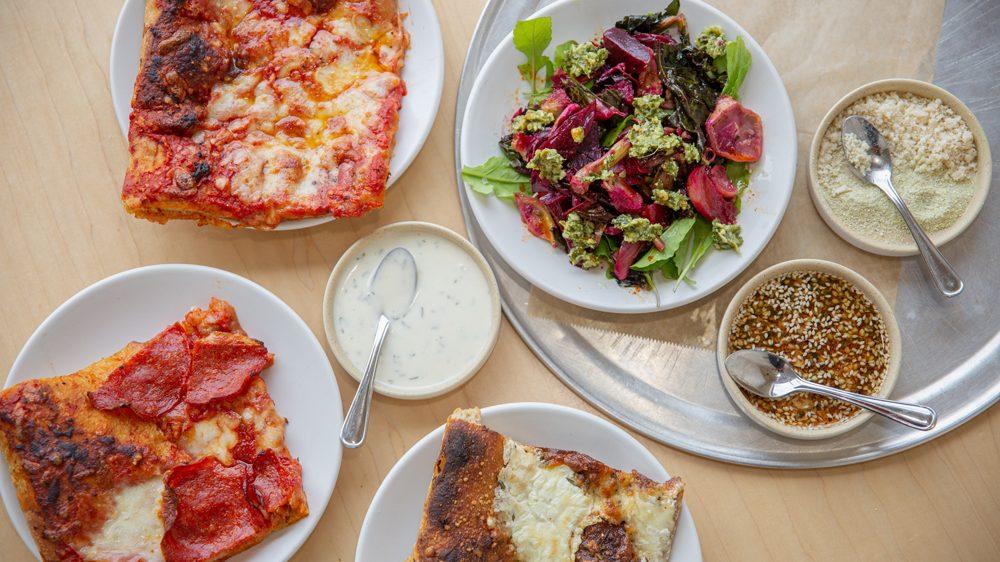 pizza beet salad nana's