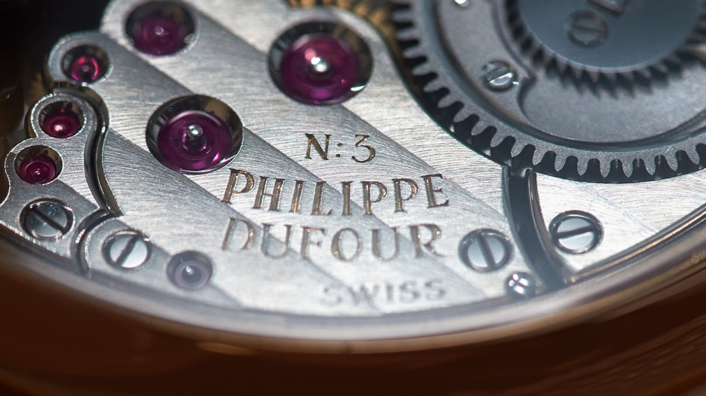 Philippe Dufour Grande Sonnerie