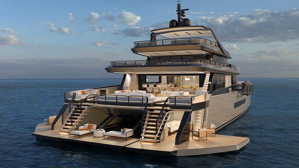 ISA Zeffiro Catamaran