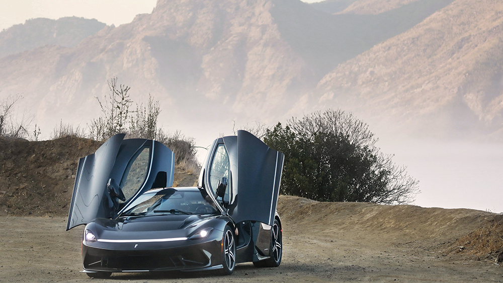 Pininfarina Battista electric hypercar