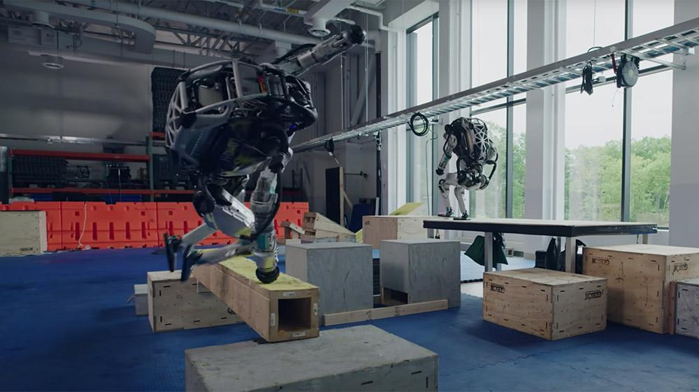 Boston Dynamics's Atlas bipedal robots
