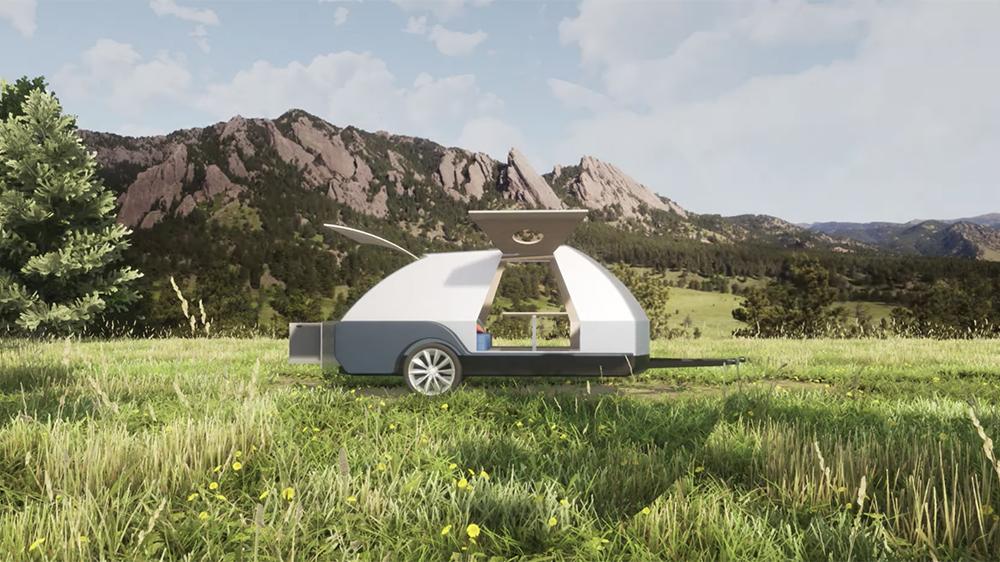 Colorado Teardrops Boulder travel trailer
