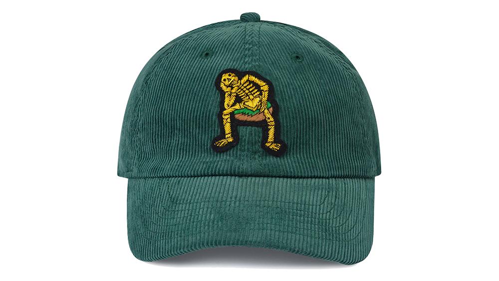 Rowing Blazers' bullion-embroidered baseball cap ($63).