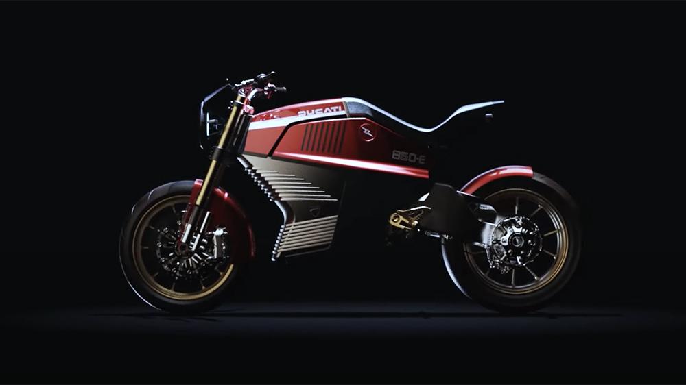 Ducati 860-E concept by Italdesign