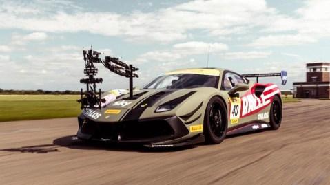 Ralle's Ferrari 488 Challenge Evo camera car