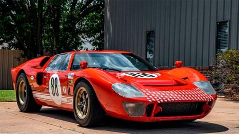 1966 RCR Ford GT40 replica stunt car