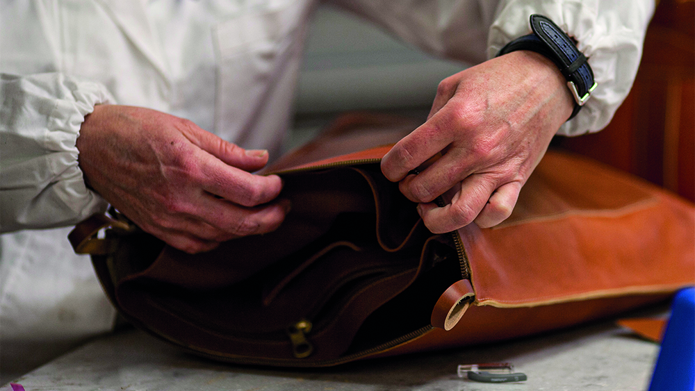 How This Cult Italian Leather Goods Brand Champions Sustainability With Old