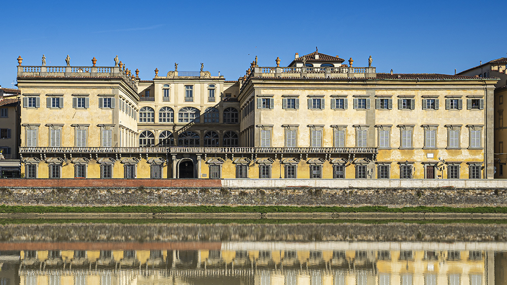 Palazzo Corsini, Il Bisonte's headquarters on the banks of Florence's Arno River.