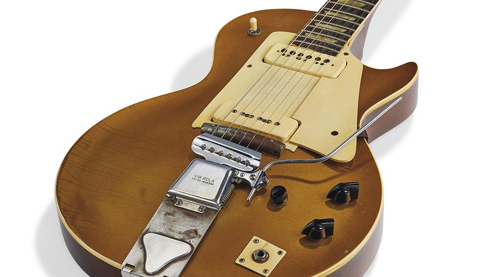 """Les Paul's """"Number One"""" Les Paul Model Artist's Prototype"""