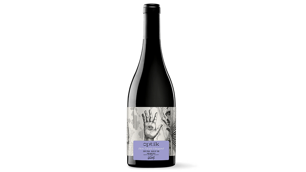 Optik 2019 Bien Nacido Vineyard Block No. 11D1 Syrah Santa Maria Valley, Santa Barbara County