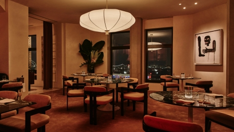 saga nyc dining room