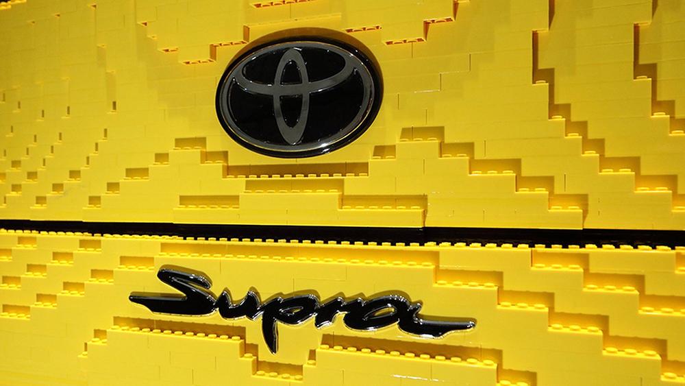 Lego Toyota GS Supra