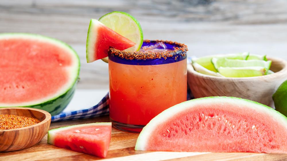 watermelon margarita lime tequila
