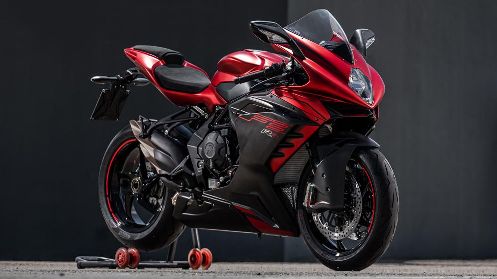 The 2022 MV Agusta F3 RR sportbike.