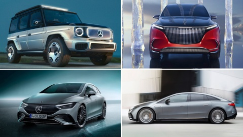 Mercedes debuts four new models at the 2021 IAA Mobility Show in Munich.