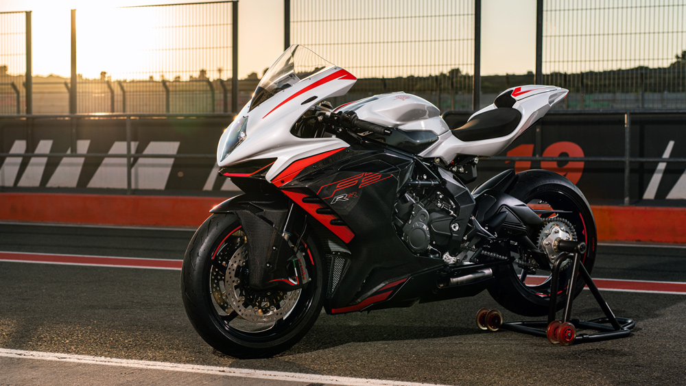 the 2022 MV Agusta F3 RR in Racing Kit guise.