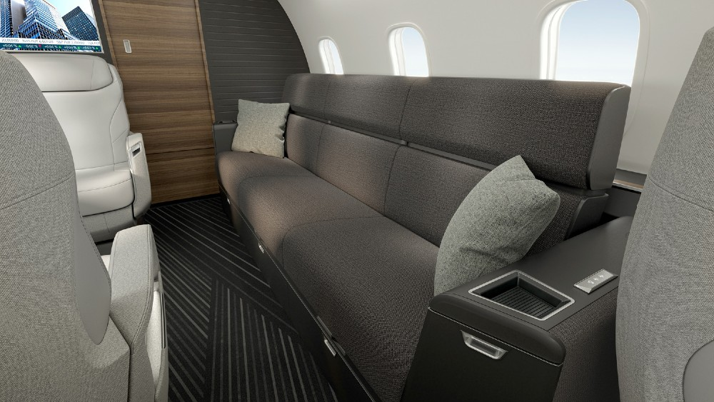 Bombardier Challenger 3500 is a new upgrade for the super-midsize category