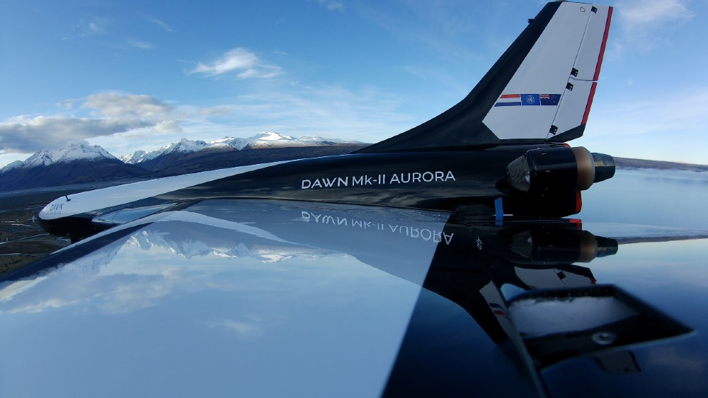 MK-II Aurora Is designed to fly to and from space multiple times per day.