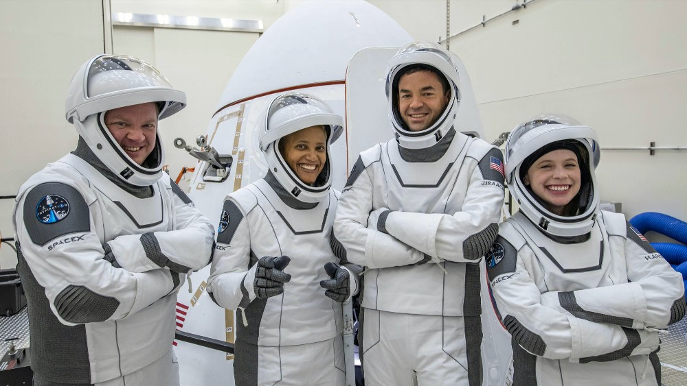 Inspiration4 will be the first orbital mission with space tourists
