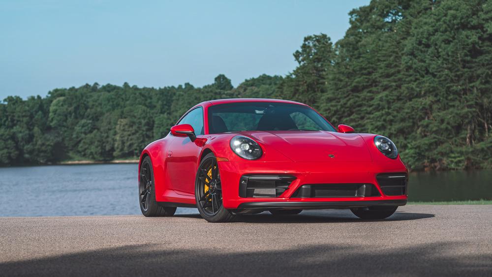 A 2022 Porsche 911 GTS.