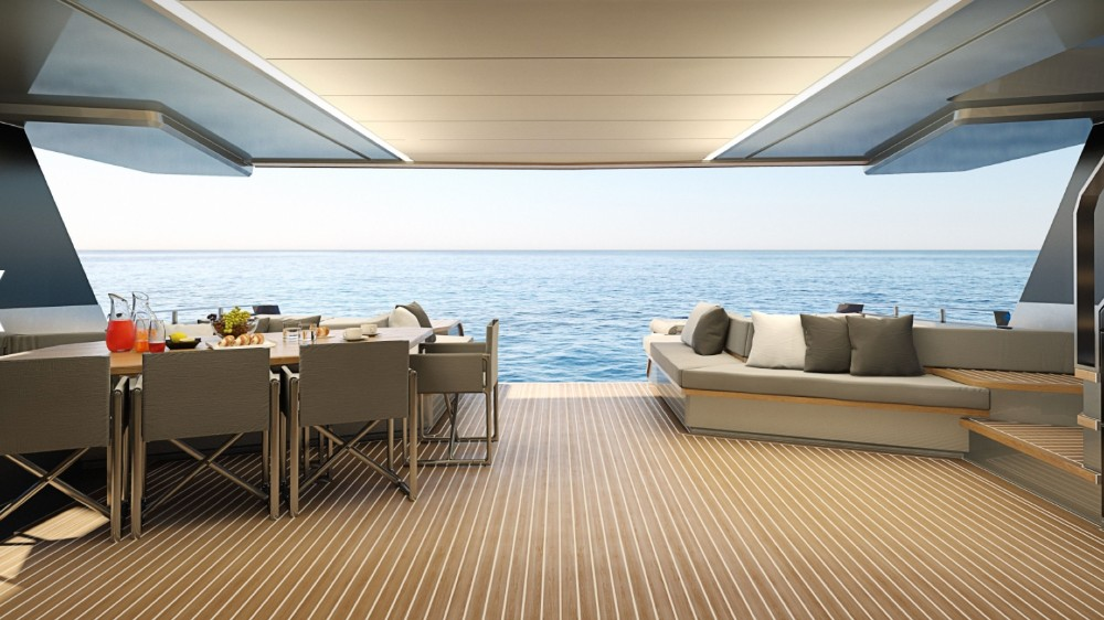Wally WHY200 has the highest-volume interior in the 80 foot and under motoryacht category
