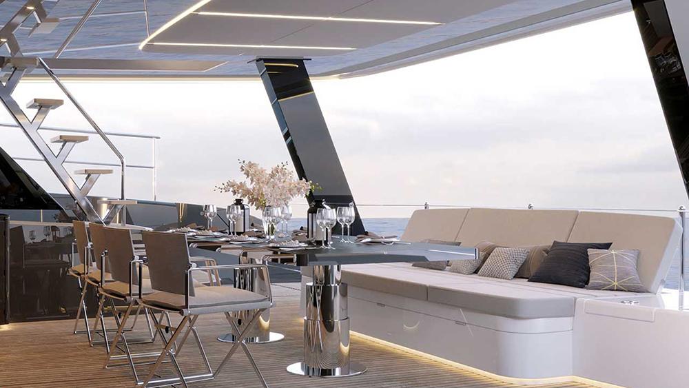 Fernando Alonso 60 Sunreef Power Eco Catamaran
