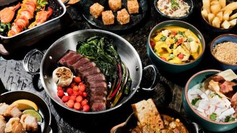 beef brazilian food caboco restaurant