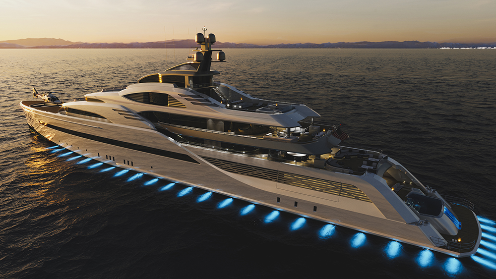 Megayacht CD100