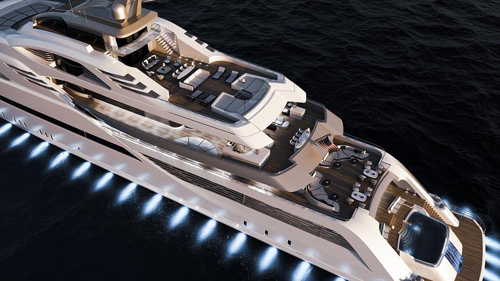 CD100 Megayacht