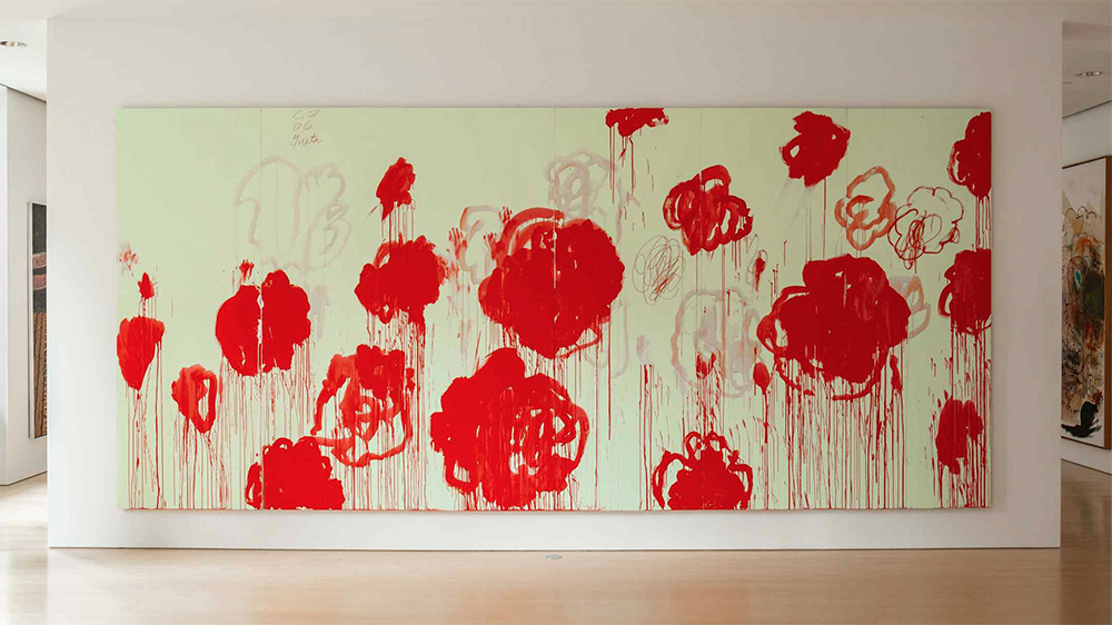 Cy Twombly, Untitled, 2007