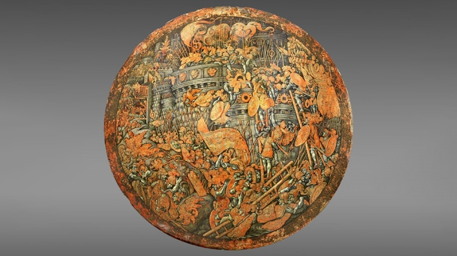 Storming of New Carthage Shield