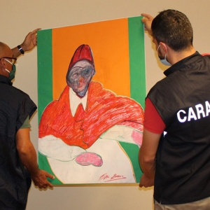 Francis Bacon Art Confiscated in Italy