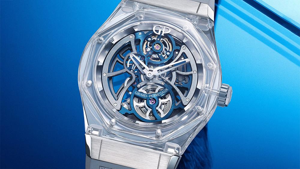 Girard-Perregaux and Bucherer Laureato Absolute Light Watch