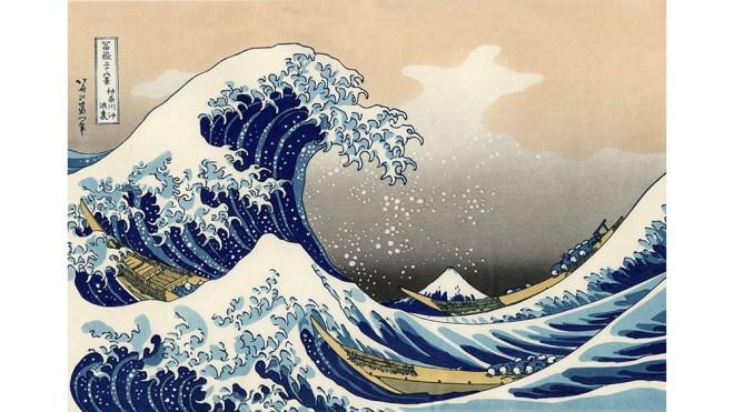 Katsushika Hokusai 'The Great Wave'