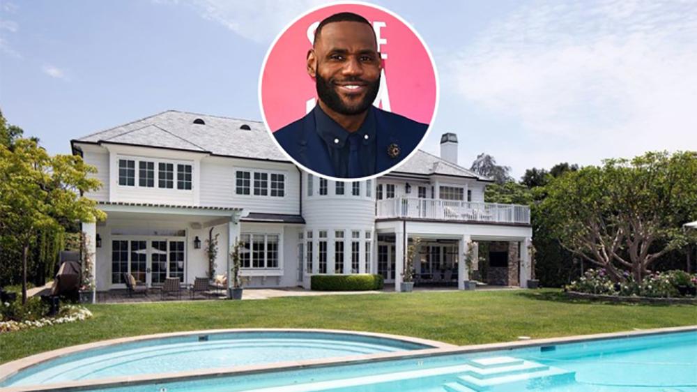 LeBron James Brentwood Mansion