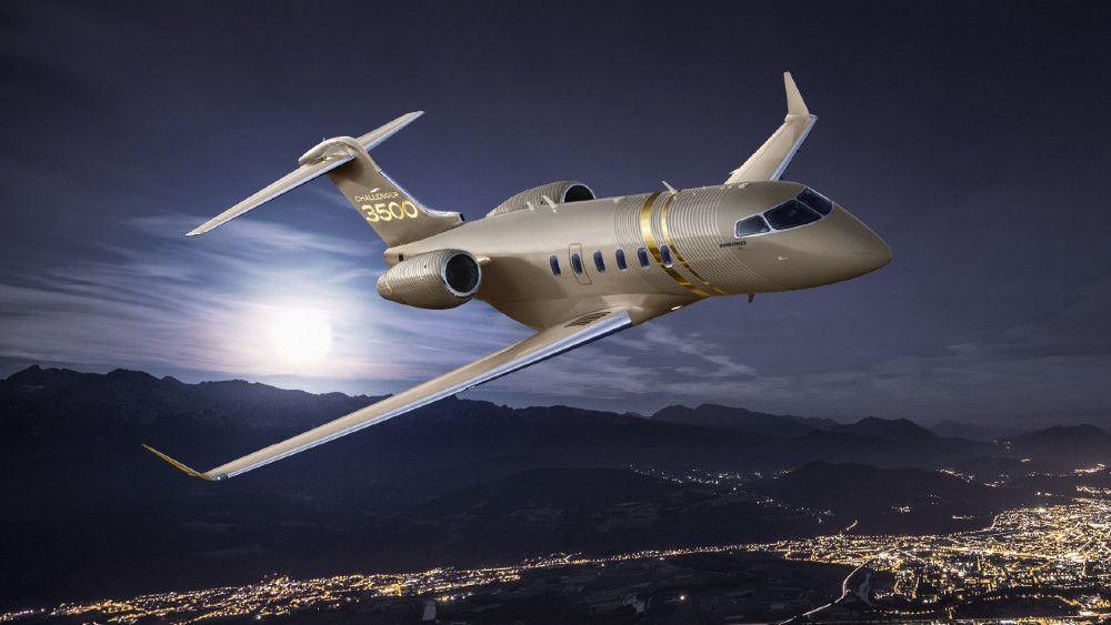 Bombardier 3500 is a new upgrade for the super-midsize category