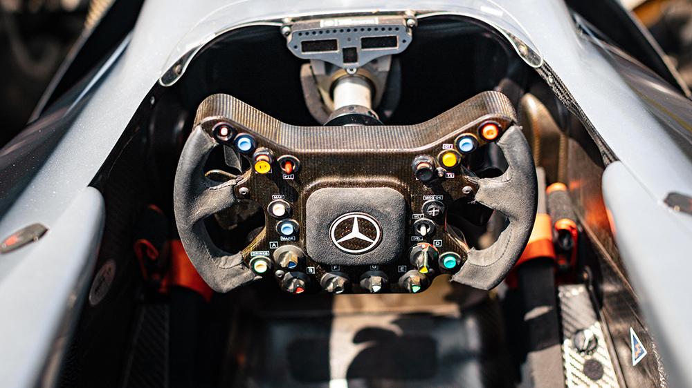 Kimi Räikkönen's 2002 McLaren MP4 17D race car
