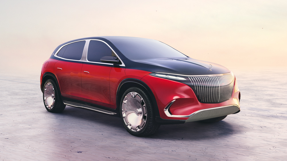 The Concept Mercedes-Maybach EQS.