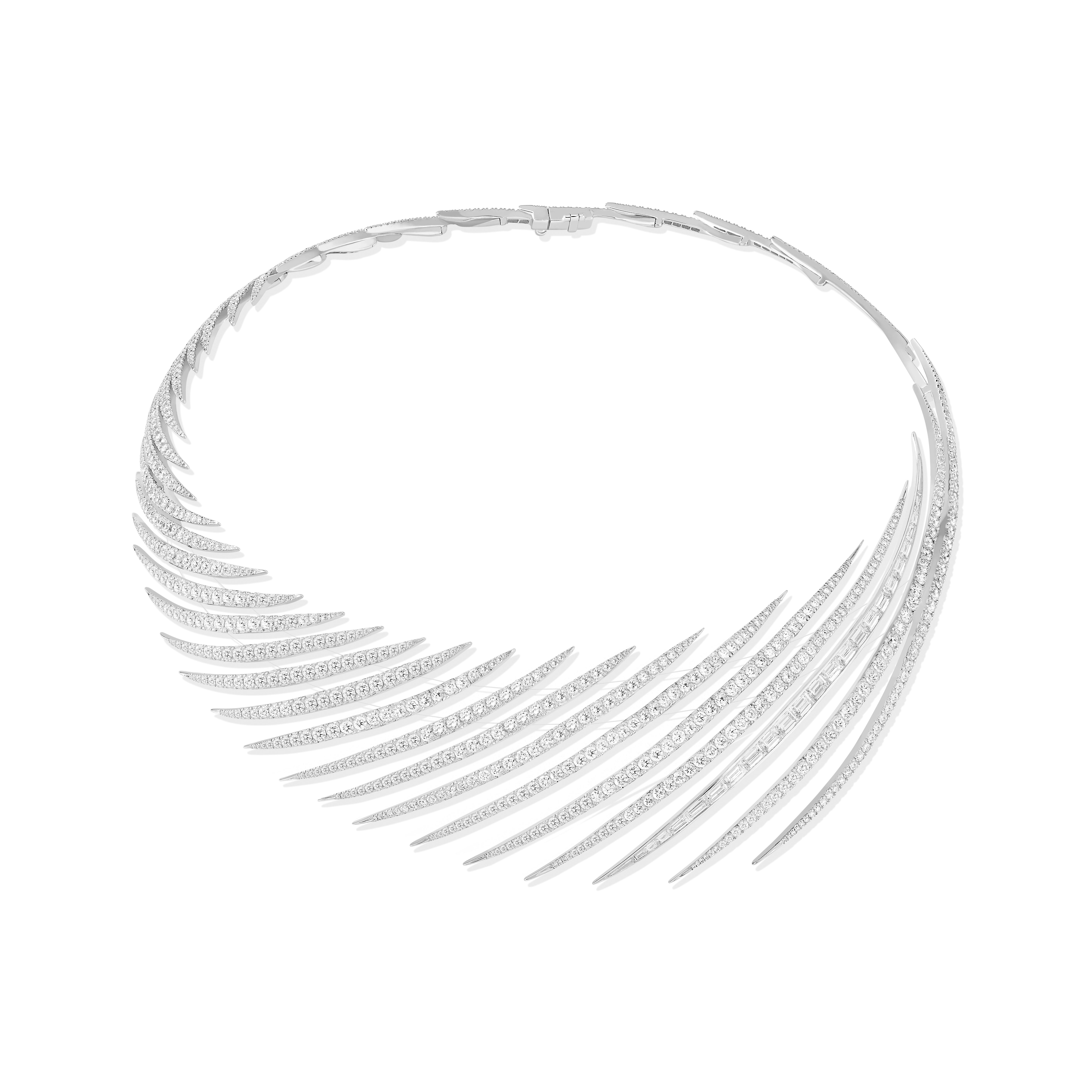 Messika Diamond Spirited Wind Necklace