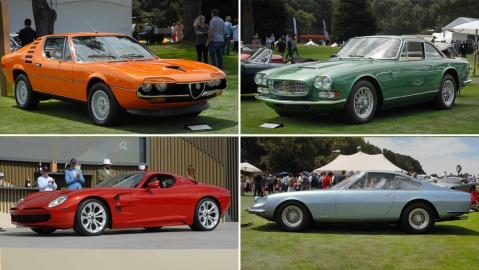 Ten top collector cars from the Quail, A Motorsports Gathering in 2021.