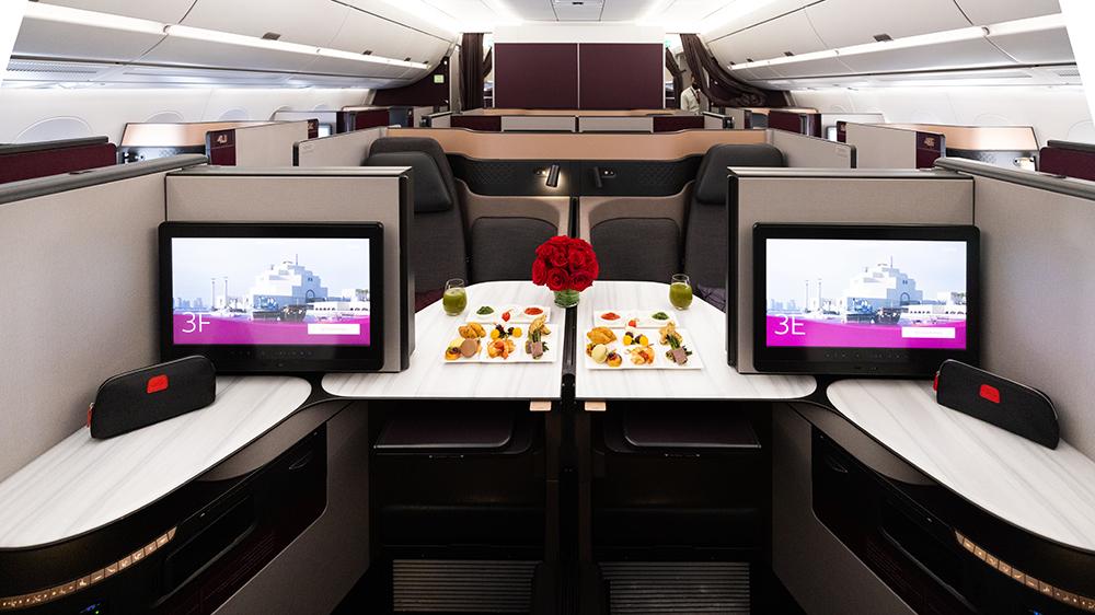 Qatar Airlines Qsuite