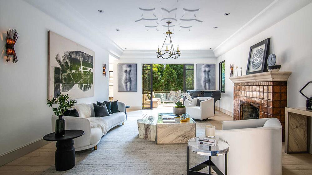 Rihanna Hollywood Hills Home
