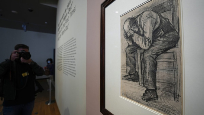 A Newly Discovered Van Gogh Drawing Is Going on Display in Amsterdam