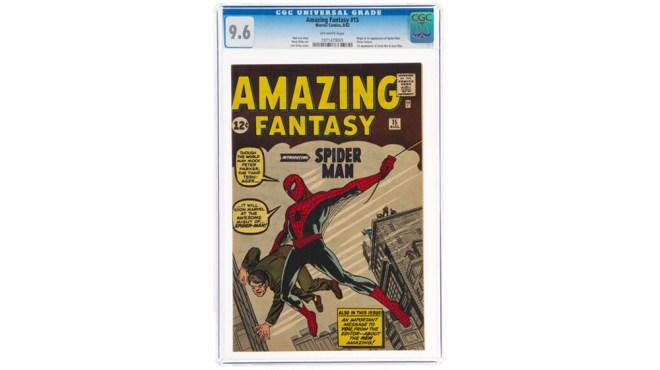 """""""Amazing Fantasy"""" no. 15"""