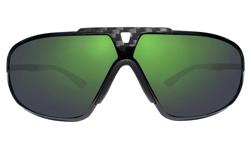 This iteration of Miller's Freestyle shades feature evergreen photochromic lenses secured with carbon fiber ($379).