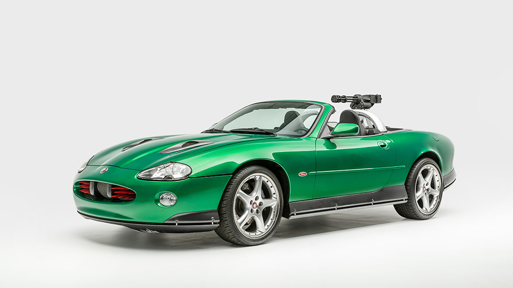 """1998 Jaguar XKR from """"Die Another Day"""" (2002)"""