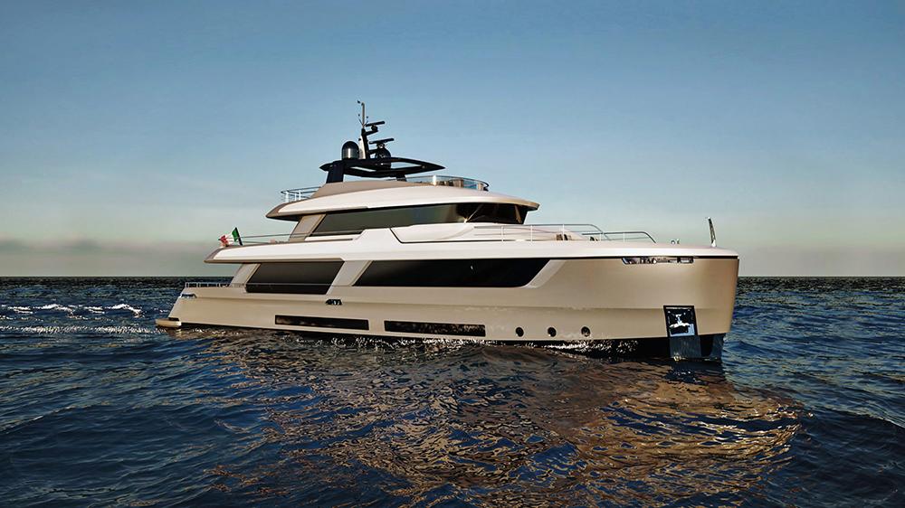 Classic 30 explorer yacht