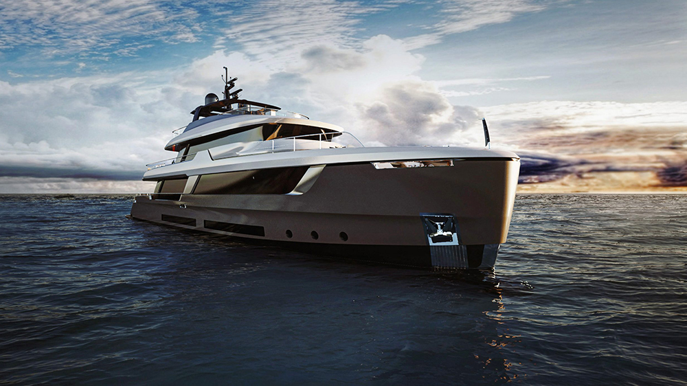 Classic 33 explorer yacht