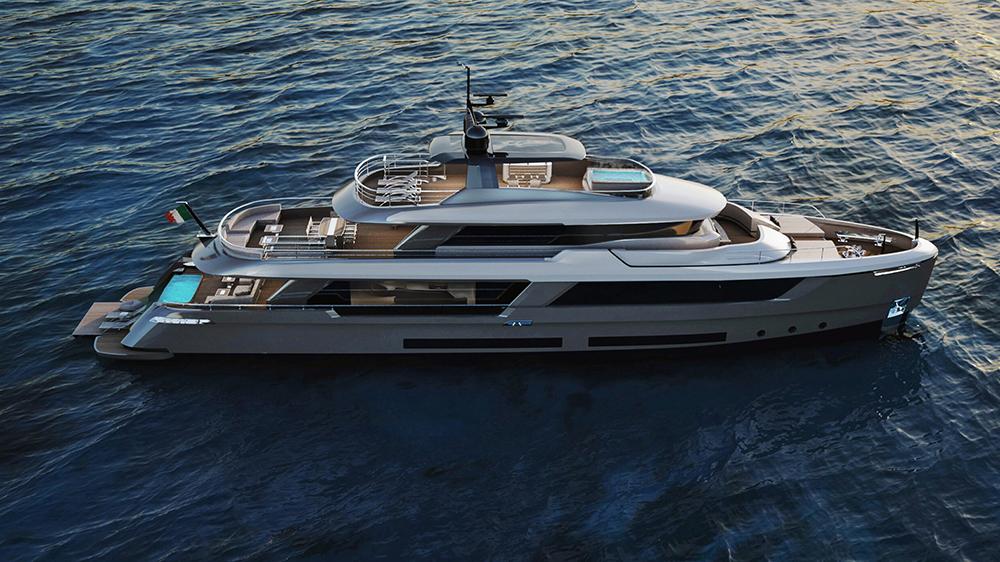 Classic 37 explorer yacht
