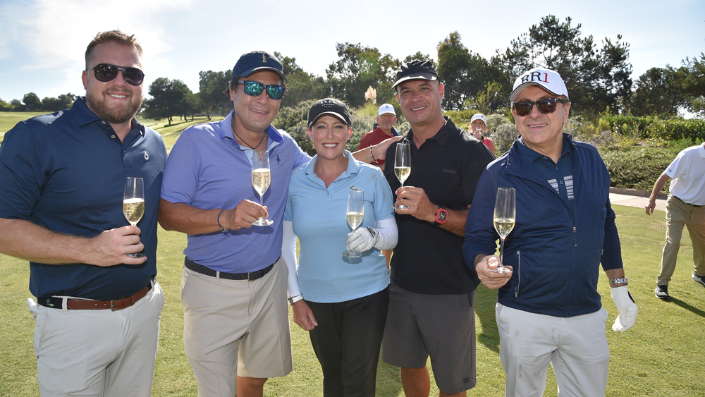 culinary masters chefs golfing champagne